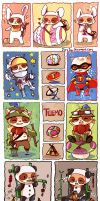Teemo Sticker sheet by jinyjin