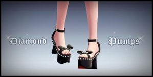 Diamond pumps - download by YamiSweet