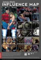 My Influence Map by jamesabels