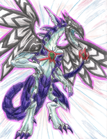 Malefic Galaxy-Eyes Photon Dragon by ElementalHeroShadow2