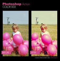 Photoshop Action - Color 003 by primaluce