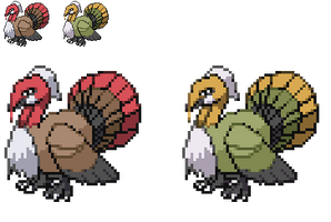 Fakemon : Goburkey by DMN666