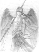 The Winged Soldier by friedChicken365