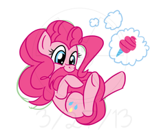 Pinkie Pie 15 minute challenge by atomic-kitten10