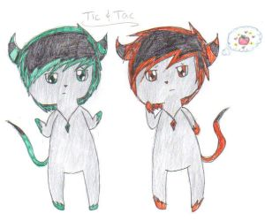 Tic and Tac by Sexyninjax