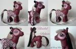 My little Pony G3 Custom Blinded Sakura by BerryMouse