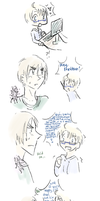 APH - USUK - Them lovebirds by ChaoticMiko