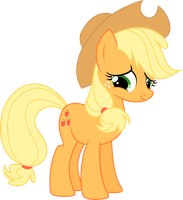painful Applejack by Leo-17-0-2