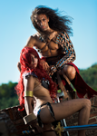 Conan and Red Sonja by Sandman-AC