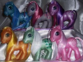 Custom G3 Earth Ponies by MoLily20