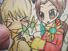 Close up of chibi Yao and Ivan XD by Sammy-I-am23