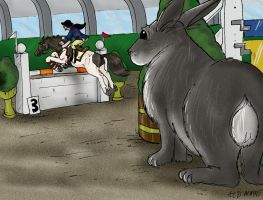Bunny's view of things by Louvan