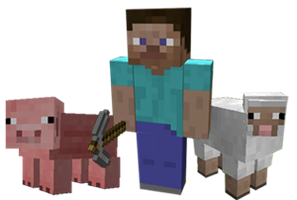 Minecraft - Piggy+Default+Cult by NomuLumiVOCAxMMD