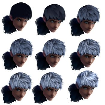 Hair tutorial - Jack Frost by ryky