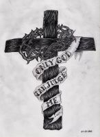 Only God Can Judge Me by MarouliLumen