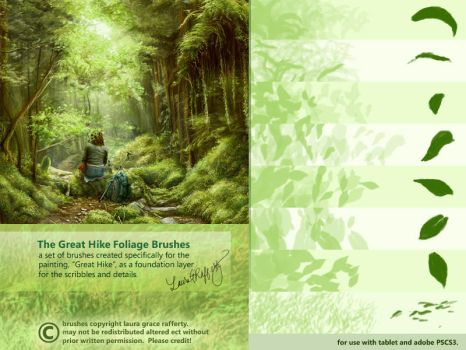 CS3 Great Hike Foliage Brushes by mynti