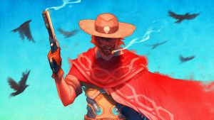 Overwatch - McCree by nakanoart