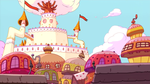 Adventure Time - Candy Castle by fullerenedream