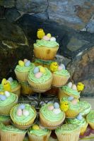 easter cupcakes by bonnyblue22