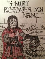 Ramsay Bolton and Reek (Theon Greyjoy) by timburtongot