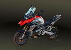 Motorcycle study by Abend86