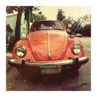 Slug Bug Orange by hell0z0mbie