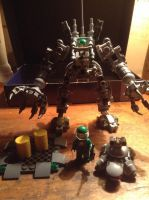 Lego EXO suit by GhostHuckebein