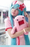 Miku Hatsune Cosplay Love Ward by kyashii4
