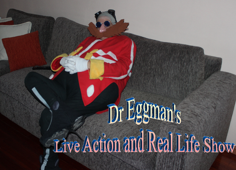 Dr Eggman Live Action and Real Life Show Cosplay by ViluVector