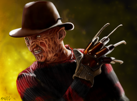 Freddy Krueger by Starzshine