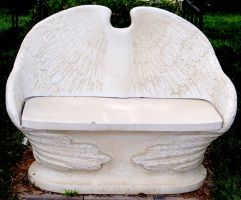 Angel Bench by Stock-by-Kai