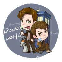 Doctor WHO by pastellZHQ