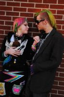 Punk couple by bricks by angelsfalldown1