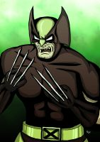 Brown and Tan Wolverine by Cronoman66