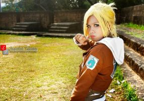 Annie Leonhardt Of Shingeki No Kyojin by TiNHoney