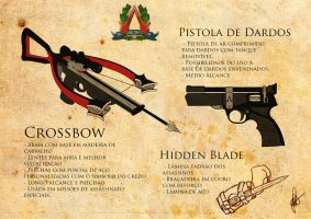 Armas - Assassin's Creed Brasil - GameArt Contest by cherryf0x
