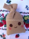 Cute Mexican tamal plushie by VioletLunchell