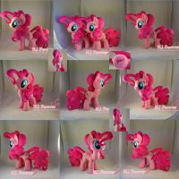 Pinkie Pie Plushie x2 (SOLD!) by moggymawee