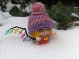 Nendoroid - YAAY SNOOOW!! by Petchy-mon