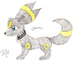 Umbreon by NiehHuskey