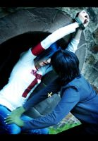 GoRiLLaZ Cosplay 221 Prisoner by Murdoc-lein