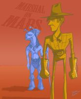 Sparks Nevada: Marshal on Mars by Di---Chan