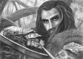 Thorin Oakenshield by Kalvedia