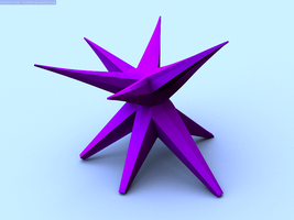 Purple Star - For Spirit Day by peterbru