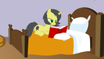 Drawing: Pauly Reading by PaulyVectors