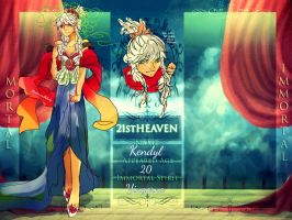21st Heaven Application II Kendyl by MushroomMilady
