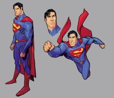 Brush-Superman-study-colors II by StephaneRoux