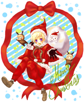 APH-Merry xmas by Haro-chan