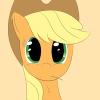 Applejack Closeup by Chaikeon