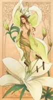 Lily Fairy Gift by MelissaDalton